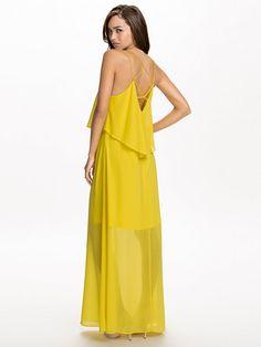 Vijupi Maxi Dress - Vila - Aurora - Kjoler - Klær - Kvinne - Nelly.com Aurora, Dresses, Fashion, Vestidos, Moda, Fashion Styles, Northern Lights, Dress, Fashion Illustrations