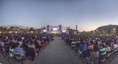 Música de Películas, clásicos animados en concierto. Parque Bicentenario, Vitacura. Foto: Patricio Melo