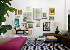 gallery wall by ANgie Hranowsky design