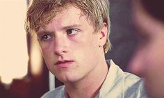 Pin for Later: 20 Times You Were Totally on Team Peeta When he is disappointed and just deals with it. Story of his life.