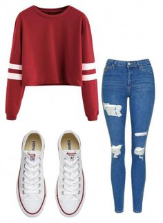 """Untitled #11"" by allygleavy12 on Polyvore featuring Topshop and Converse #teenfashionforschool"