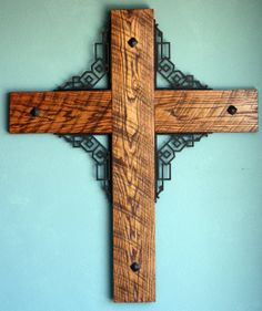 large wood and iron decortative wedding by whiskeyheritage on Etsy, $325.00