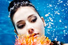 Brautmoden unter Wasser