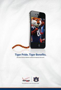 Verizon Wireless Sponsorship Poster on Behance