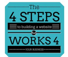 Four Steps to Building a Website that Works for Your Business. Post from www.ellasays.ca. Click through to read more content marketing tips. Building A Website, Say You, Content Marketing, Read More, It Works, Posts, Sayings, Reading, Business