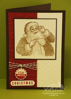 A Crafty Cat  - Santa's List x Stampin' Up!