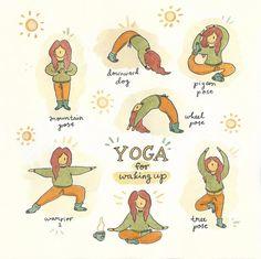 Items similar to Yoga - Art Print, Tree Pose on Etsy Yoga Flow, Yoga Meditation, Yoga Mantras, Yin Yoga, Morning Yoga Stretches, Morning Yoga Routine, Morning Yoga Sequences, Yamas And Niyamas, Eight Limbs Of Yoga