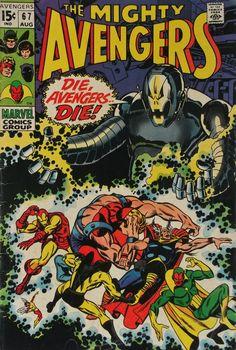 1969 Avengers Ultron