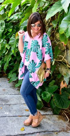 The Monogrammed Life: Fashion Friday: Summer Palm Print