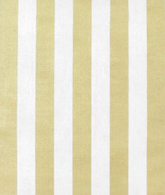 Portfolio Sparkle Gold Fabric - $37.45 | onlinefabricstore.net Would make a lovely table cloth or runner for holiday decor. Or Fabric striped Wall paper, while we're at it!