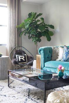 [Decoración muy Chic] Un apartamento en Brooklyn lleno de color