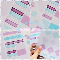 Planner Printables! Free for personal use :) #fancyplanner https://fancyplanner.wordpress.com/  #planner #erincondren #plannergirl #plannerstuff