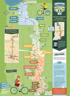 Bicycle Route / Trail Map