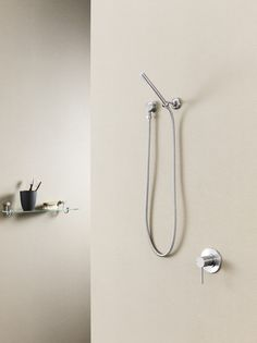 Caroma Titan Stainless Steel Hand Shower with Microphone Hand Piece  http://www.caroma.com.au/bathrooms/showers/titan-stainless-steel/titan-stainless-steel-hand-shower-microphone-hand-piece
