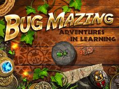 Bug Mazing – Adventures in Learning – Best Apps For Kids