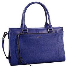 Calvin Klein Aura Textured Satchel Handbag Tote Bag (Blue) Calvin Klein http://www.amazon.com/dp/B00XLVUH30/ref=cm_sw_r_pi_dp_P5iywb1D9BAPD