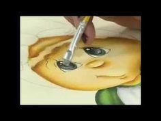 Pano de copa pintado (Rosevane Oliveira) - YouTube