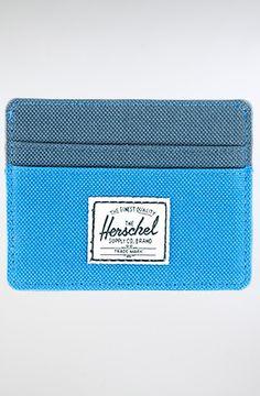 The Charlie Wallet in Cobalt & Navy by HERSCHEL SUPPLY
