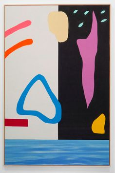 Alex Ebstein - paintings from yoga mats