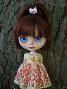 RAISIN (Rozinka) - OOAK custom Blythe doll