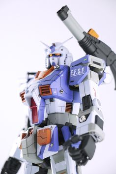 GUNDAM GUY: MG 1/100 RX-78-2 Gundam THE ORIGIN - Painted Build