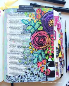 Pin by genae anderson on bible journaling and art bible drawing, bible art Kunstjournal Inspiration, Art Journal Inspiration, Bible Study Journal, Journal Pages, Art Journaling, Scripture Journal, Scripture Art, Bible Art, Bibel Journal