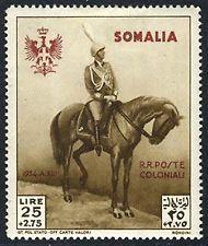 Italian Colony Somalia B51 XF MH High Value Semi-Postal from 1935