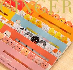 120-Pages-Funny-Animal-Stick-Post-It-Bookmark-Point-Mark-Memo-Flag-Sticky-Notes