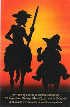 En 1605 se publicó la primera edición del Ingenioso Hidalgo Don Quijote de la Mancha, la obra más universal de la literatura española.