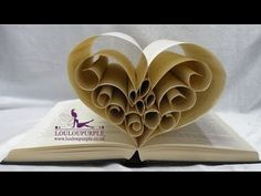 In this book art tutorial, I'm going to teach you one of the basic folds in creating a book sculpture -- the triangle fold -- and how this simple fold can ea. Old Book Crafts, Book Page Crafts, Diy Arts And Crafts, Sculpture Lessons, Book Sculpture, Paper Sculptures, Hedgehog Book, Diy Paper, Paper Crafts