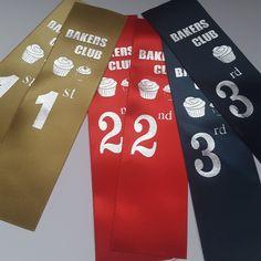 Award Ribbons printed #awards #trophy #prize
