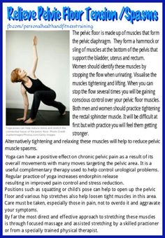 1000 Images About Pelvic Floor Tension Myalgia Pftm On