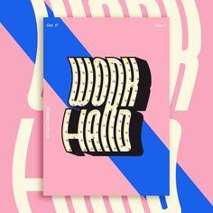 30 days challenge   Everyday poster  Day 17 work hard   17 /30  #graphicdesigner #graphic  #typography #blue #october #day #day17  #poster #designchallange  #challange  #abstract  #graphicdesign #designspiration #vintage  #poster #dribbble  #photoshop #inspiration #adobe  #illustator #flageffect  #designelement #behance