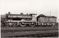 14515. A Drummond 4-4-0 131 Class built for the Glasgow & South Western Railway as 136, renumbered 336 in 1919, it became part of the LMS on grouping in 1923. Built in 1913, it was withdrawn by LMS in 1937.