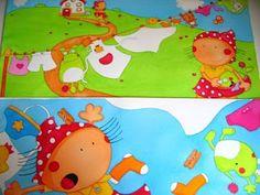 """Ilustração do livro """"O Monstro das Festinhas"""" em fase de acabamento/Illustration from the book """"O Monstro das Festinhas"""" on the stage of completion"""