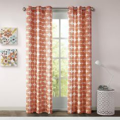 Intelligent Design Gwen Geometric Grommet Curtain Panel Pair - Overstock Shopping - Great Deals on ID-Intelligent Designs Curtains