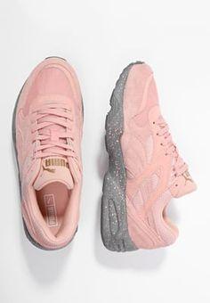 Puma R698 - Baskets basses - coral cloud pink/steel gray - ZALANDO.FR
