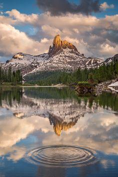 Lago Federa, Dolomitas Italia