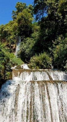 Edessa Waterfalls, Pella Region, Greece.  - Selected by www.oiamansion.com in Santorini.
