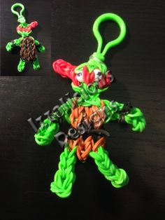 TEENAGE NINJA MUTANT TURTLE. Designed and loomed by Kate Schultz/Izzalicious Designs. Click photo for YouTube tutorial.