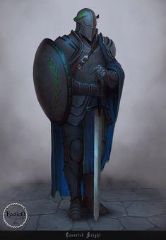 Laureled Knight, Aleksey Bayura on ArtStation at http://www.artstation.com/artwork/laureled-knight