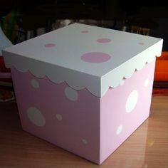 Cajas de maderas pintadas - Imagui Baby Shawer, Christmas Gift Box, Diy Box, House Party, Little Girls, Shabby, Scrapbook, Creative, Crafts