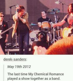 NO I'M NOT CRYING and where's Frankie?