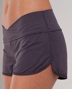 Yeah, I wear short shorts.