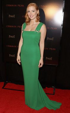 Jessica Chastain from The Best of the Red Carpet   E! Online
