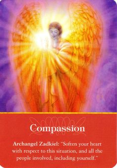divination--angel cards--Archangel Zadkiel