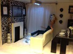 Barbie living room