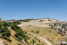 """The Mount of Olives is a ridge with three gently rounded peaks that runs north-and-south just northeast of the """"old city"""" section of Jerusalem. It is the site of the Sermon on the Mount. Jesus triumphantly entered Jerusalem from the there. It is where he wept over the city and is the location of the Garden of Gethsemane where he went to pray the night before his crucifixion and where he was betrayed. Jesus ascended into heaven from the middle peak and it is prophesied that he will return…"""