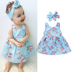 Verão crianças bebê meninas de princesa vestido de festa vestidos sem mangas Tutu Flor 0-4T | Roupas, calçados e acessórios, Roupas, calçados e acessórios para crianças, Roupas para meninas (tam. 4 e acima) | eBay!