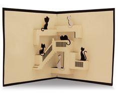 Format carte pliée: 14.5 x 14.5 cm Coloris : Réglisse / Ivoire / Perle Enveloppe fournie
